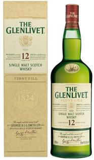 The Glenlivet Scotch Single Malt 12 Year 750ml